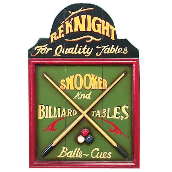 Snooker & Billiards Wall Art