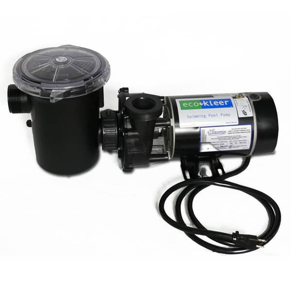 Eco kleer 2 hp pool pump motor waterway for Home depot pool pump motor