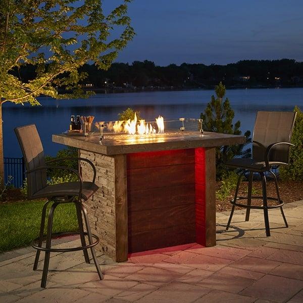 Marquee Fire Pit Island Table
