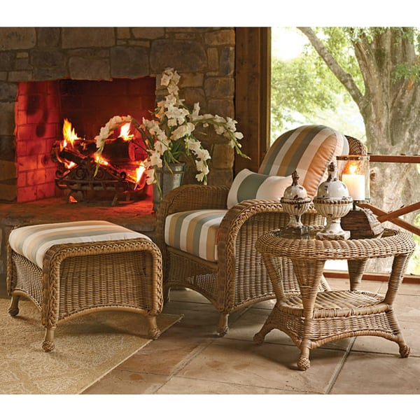 Classic Deep Seating Wicker Patio Furniture by Summer Classics