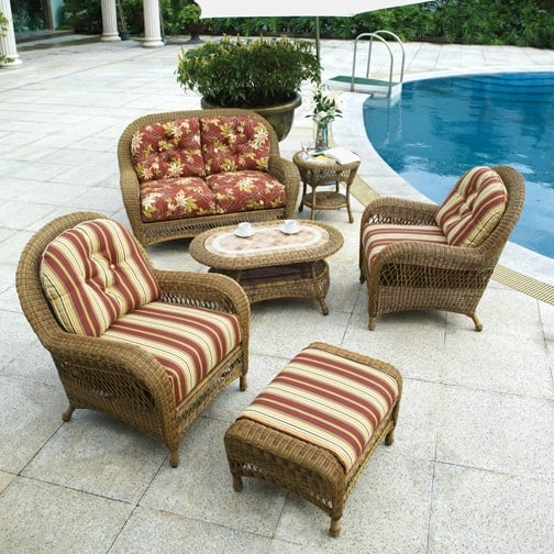 Sanibel All Weather Wicker Patio Furniture By Bahama Winds
