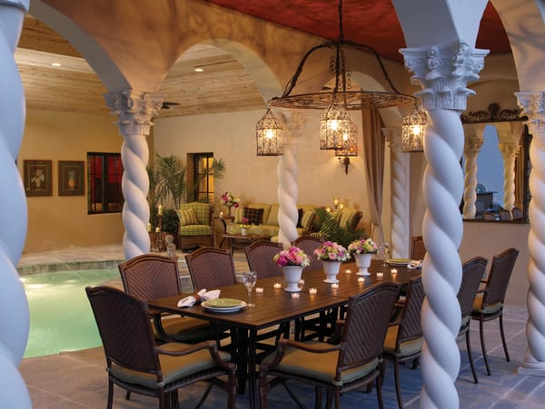St Croix Cast Dining Patio Furniture By Summer Classics