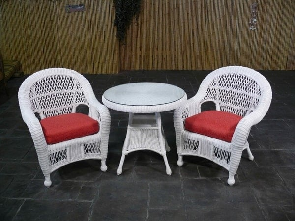 ... Relax In Style On Your Patio With The St. Lucia All Weather Wicker  Collection By