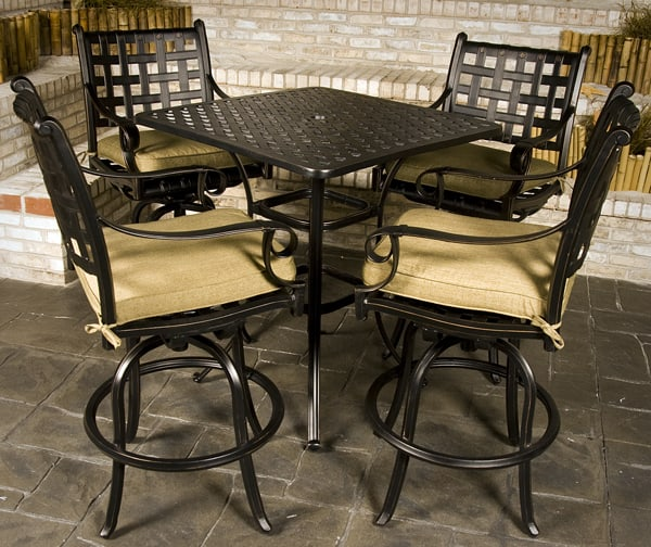 Chateau Bar Height Outdoor Patio Furniture Set