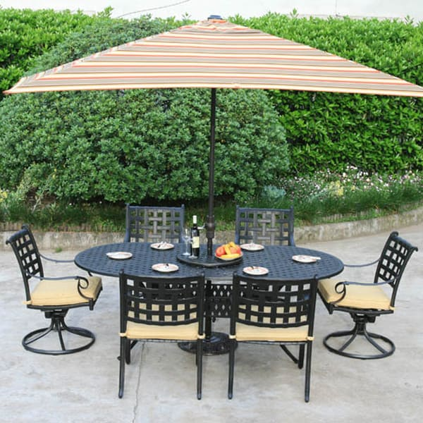 Chateau Outdoor Dining Patio Set By Alfresco Home