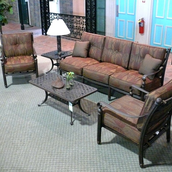 5 Piece Garden Deep Seating Patio Set