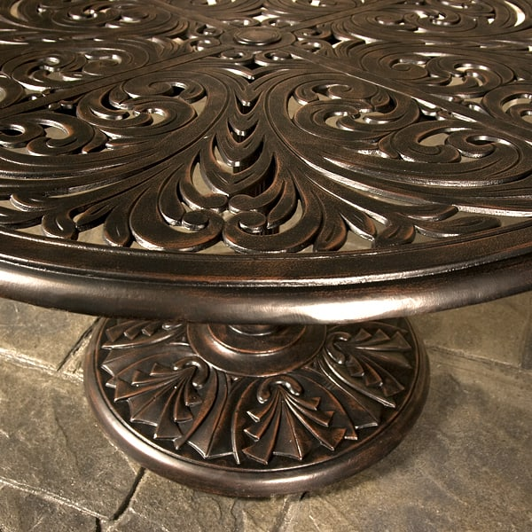 Cast iron fire pit bowl furthermore grand tuscany deep seating by