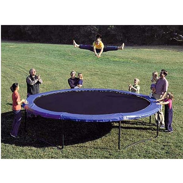 14 Staged Bounce Trampoline