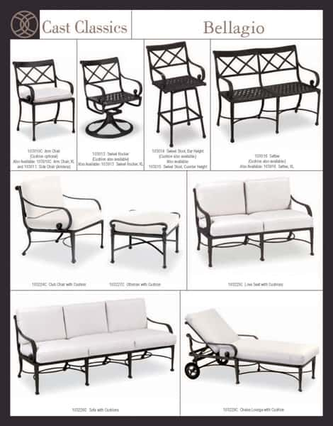 ... Make Your Outdoor Living Area A Place To Remember With Cast Classics
