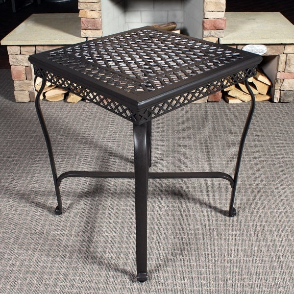 cambridge 3 piece outdoor counter height patio set leisure