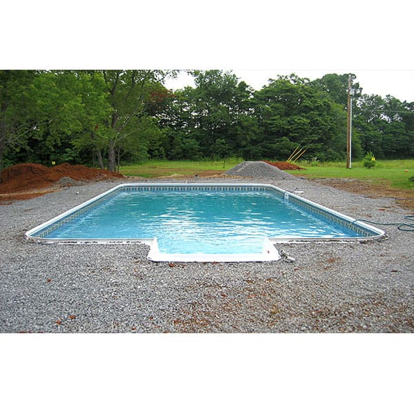 Installation process for Installing swimming pool