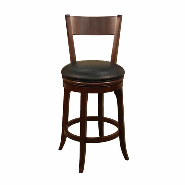 Autumn English Tudor Set Of 2 Bar Stools By American