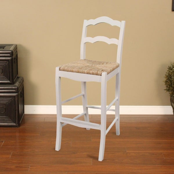 aino bar stool white