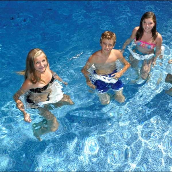 Pool Saddle By Swimline White