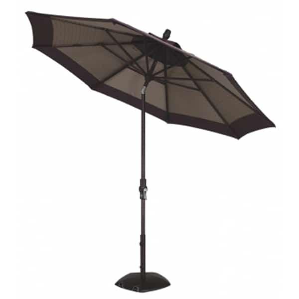 9 Collar Tilt Aluminum Umbrella