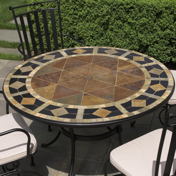 ... Alfresco Does Marble Tables Like Nothing You Have Ever Seen   Outdoor  Patio Dining Furniture At