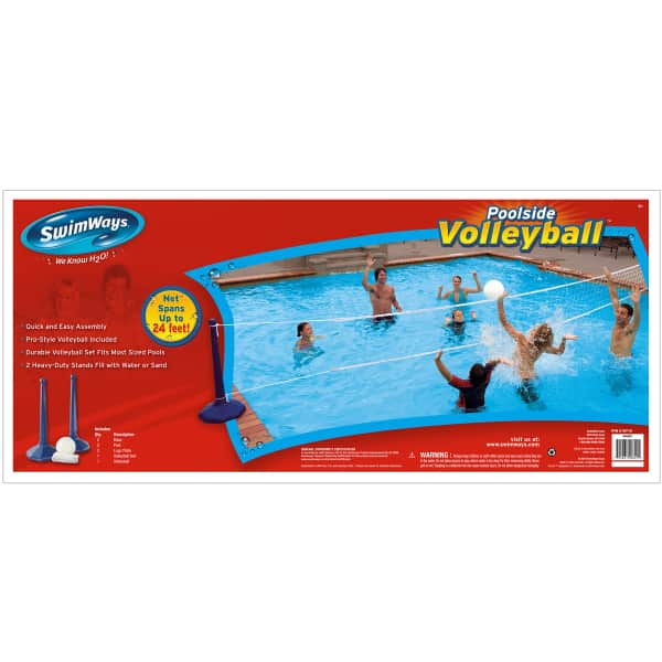 Poolside Volleyball Set