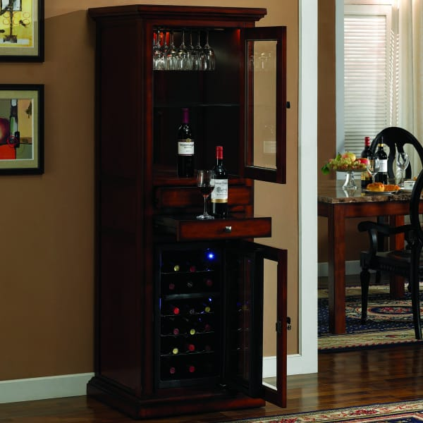 Meridian Cherry By Tresanti Wine Amp Spirits Cabinets