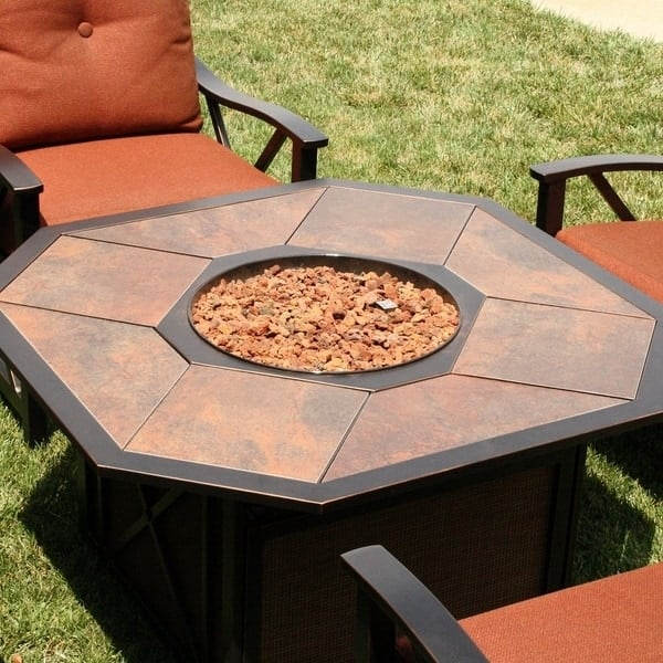 Haywood Fire Pit Set By Agio Select Patio Furniture
