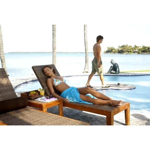 Leeward Islands Chaise Lounge Set by Panama Jack  Outdoor Furniture