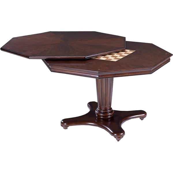 Ambassador Game Table Set With Chairs By Hillsdale