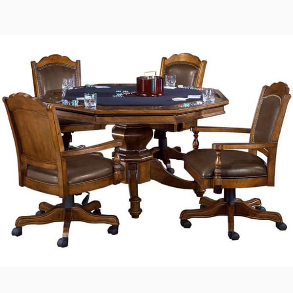Nassau Game Table Set By Hillsdale Furniture Poker Tables