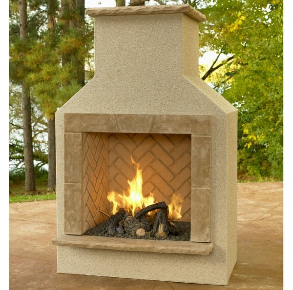San Juan Gas Fireplace
