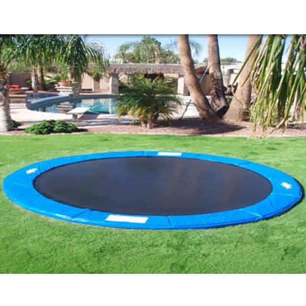 15 39 in ground trampoline. Black Bedroom Furniture Sets. Home Design Ideas