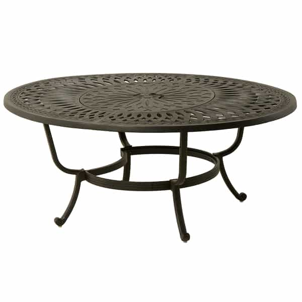 mayfair 52 oval gas fire pit table