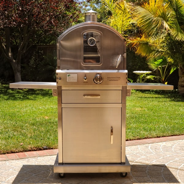 430 Stainless Steel Outdoor Oven W/ Cart By Pacific Living