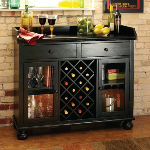 Cabinets For Home Bar: Cabernet Hills Wine & Bar Cabinet