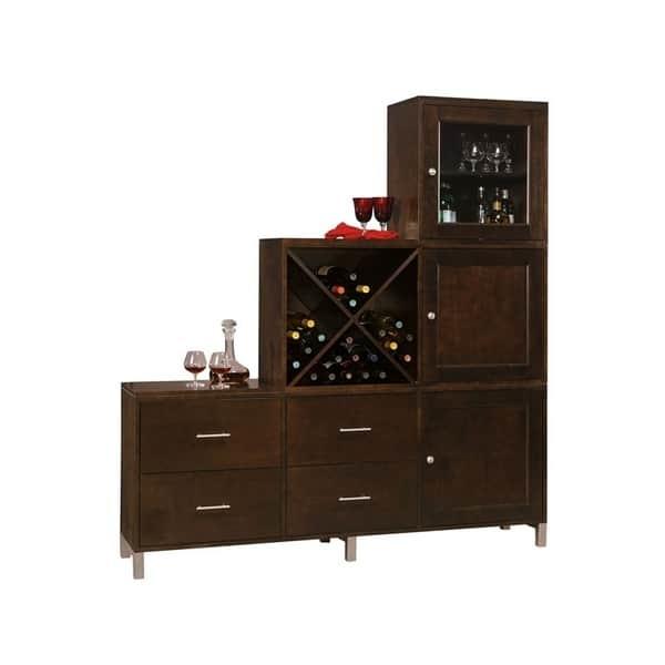 personal storage cabinet espresso by howard miller
