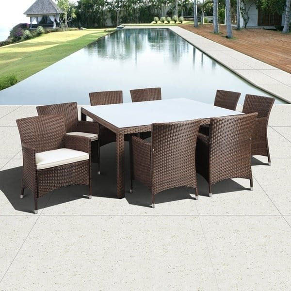 Guadeloupe Wicker Outdoor Furniture Set by Leisure Select