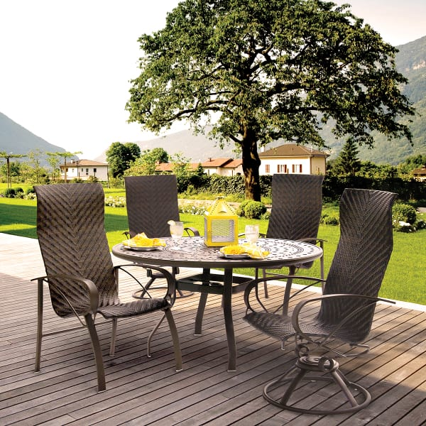 Vision sling dining for Homecrest patio furniture