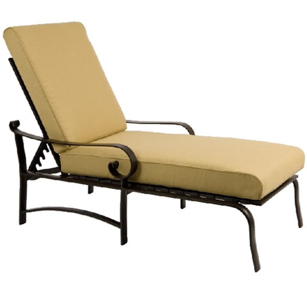 Belden cushion chaise lounge for Casual chaise lounge