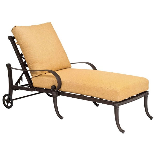 Holland Chaise Lounge by Woodard