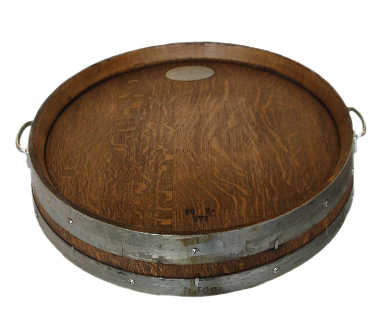 The Estate Wine Barrel Fire Pit Table
