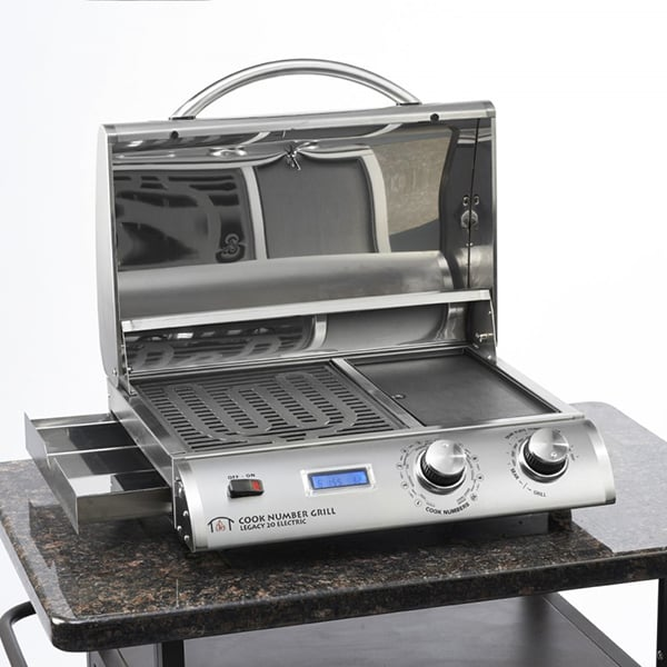 """20"""" Portable Electric Grill By Outdoor GreatRoom"""