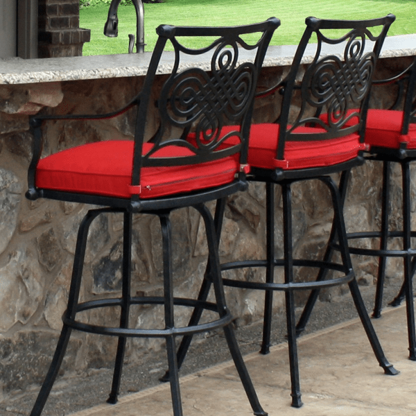 salina bar height stools by leisure select