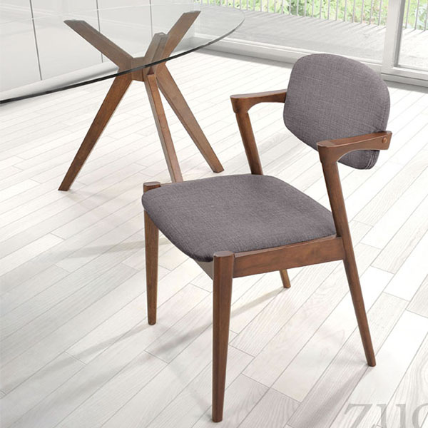 Pleasing Brickell Dining Chair Dove Gray Set Of 2 Dailytribune Chair Design For Home Dailytribuneorg