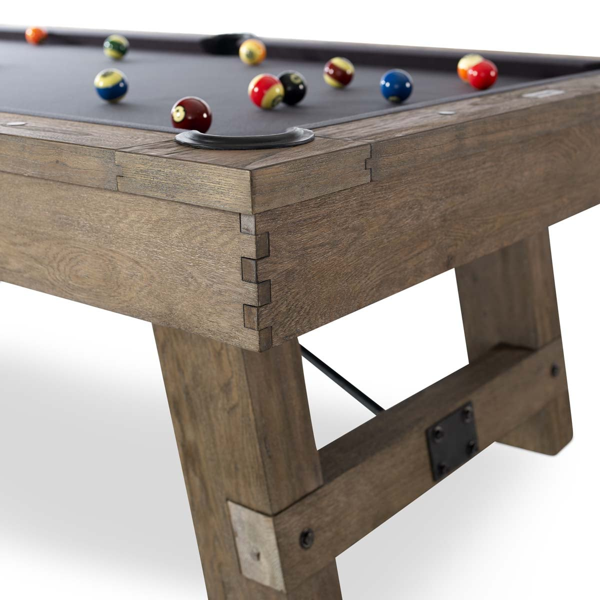 The Isaac Pool Table By Plank Amp Hide Family Leisure