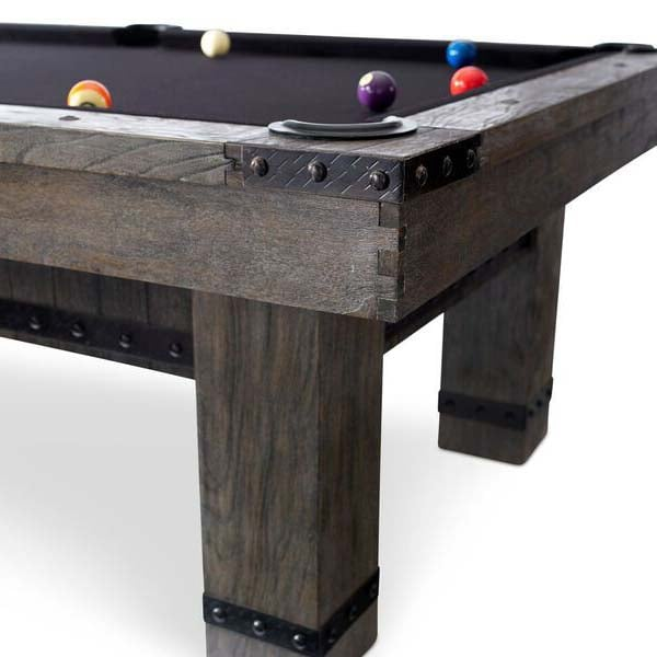 The Morse Pool Table By Plank Amp Hide Family Leisure