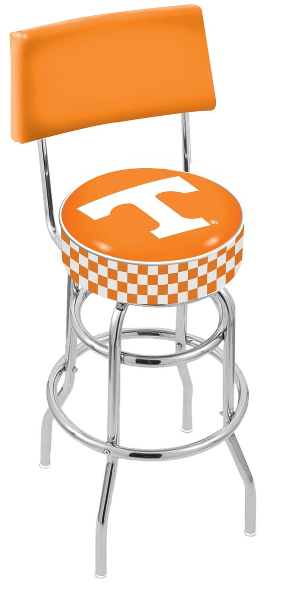 Tennessee Bar Stool W Official College Logo Family Leisure