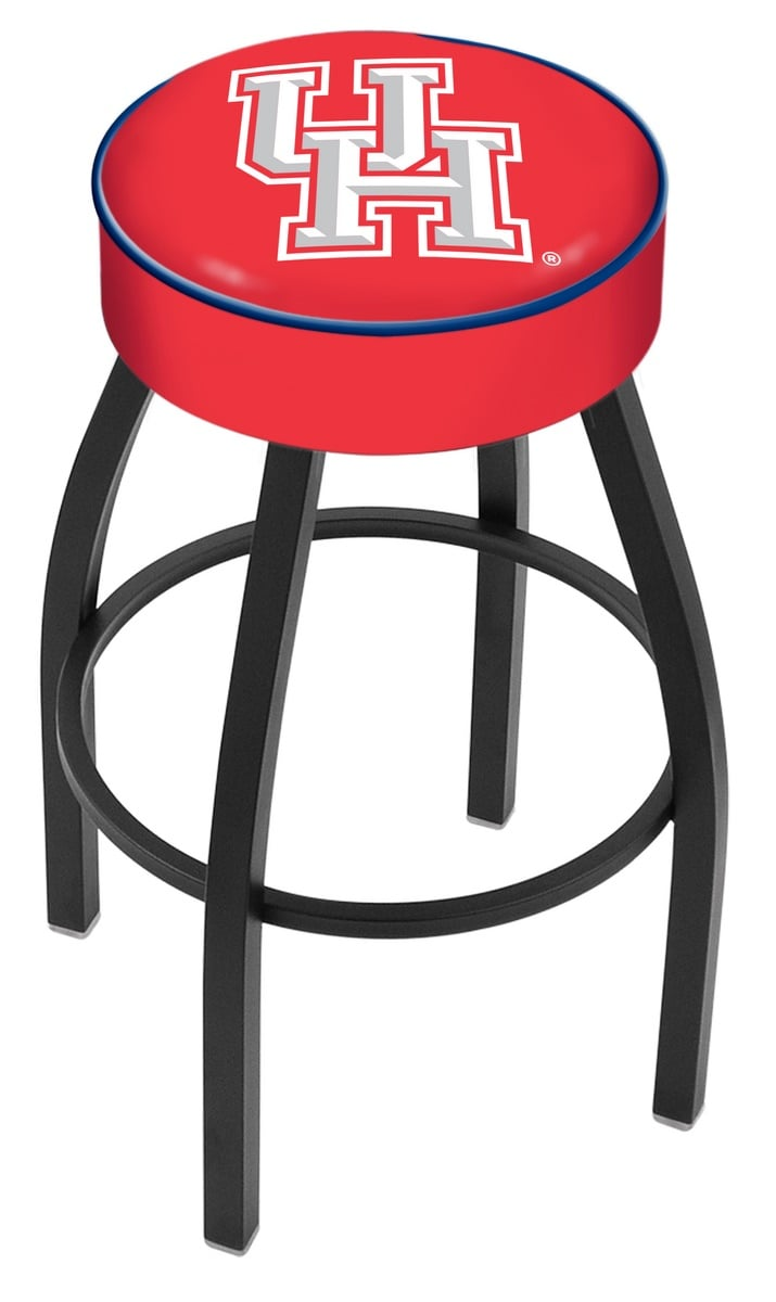 Houston Counter Height Bar Stool w Official College Logo  : L8B1Houston from www.familyleisure.com size 715 x 1200 jpeg 53kB