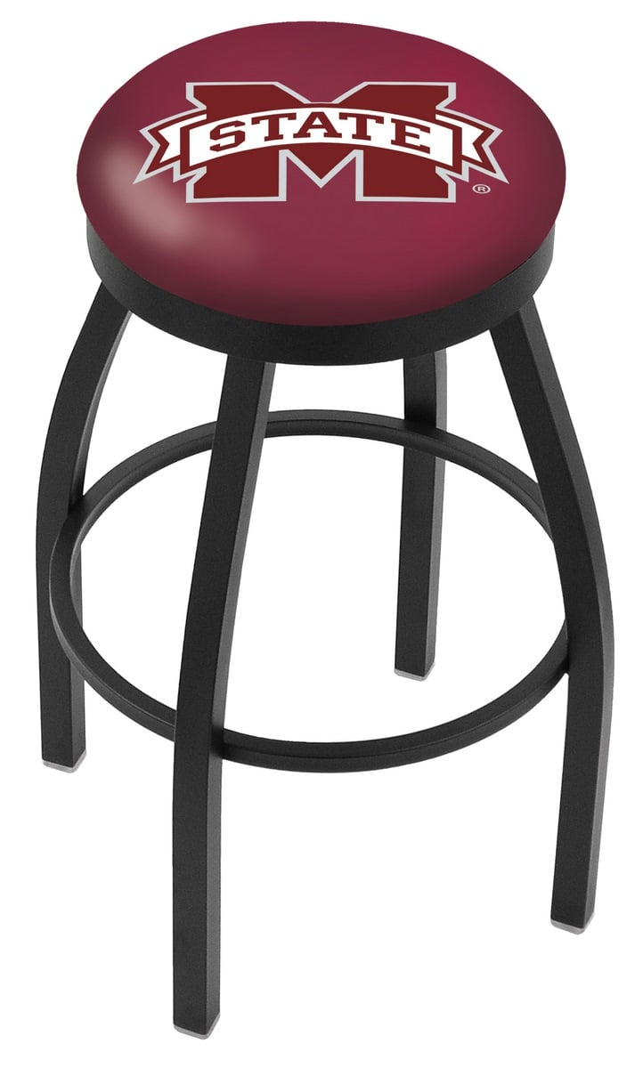 Mississippi State Bar Stool W Official College Logo