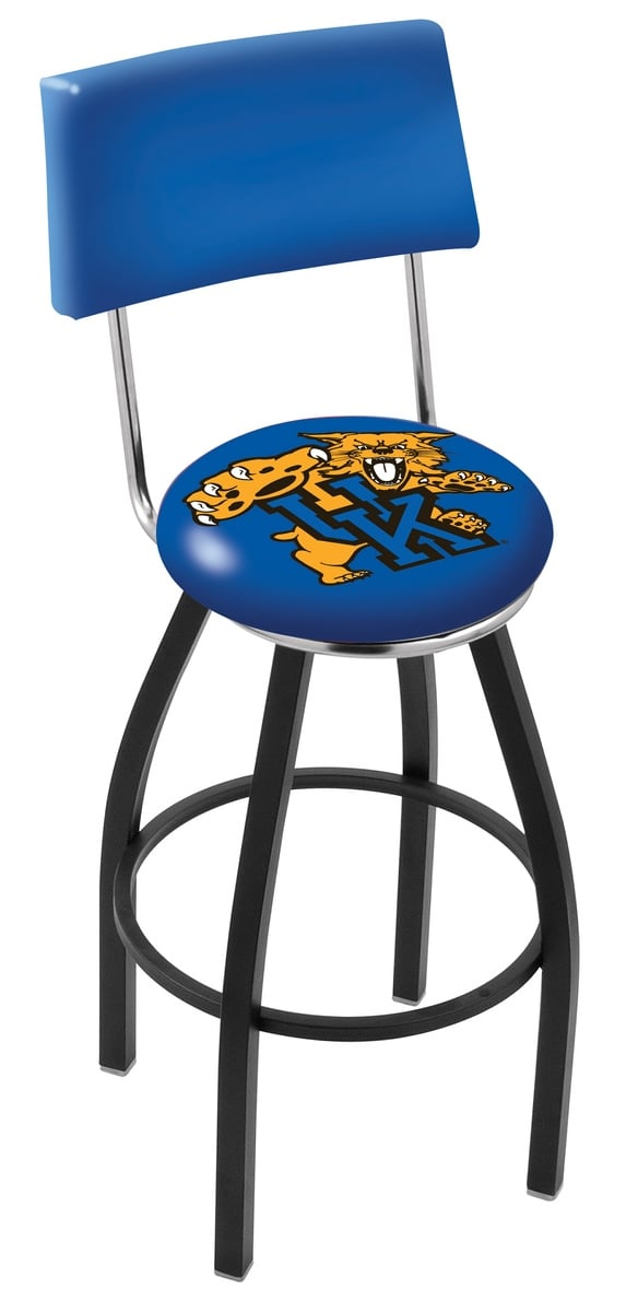Kentucky Quot Wildcat Quot Bar Stool W Official College Logo