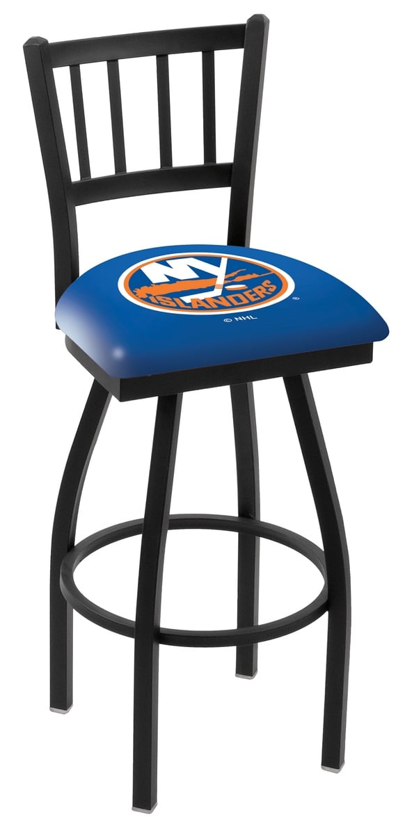 New York Islanders Counter Height Bar Stool w Official  : L018NYIsln from www.familyleisure.com size 582 x 1200 jpeg 46kB