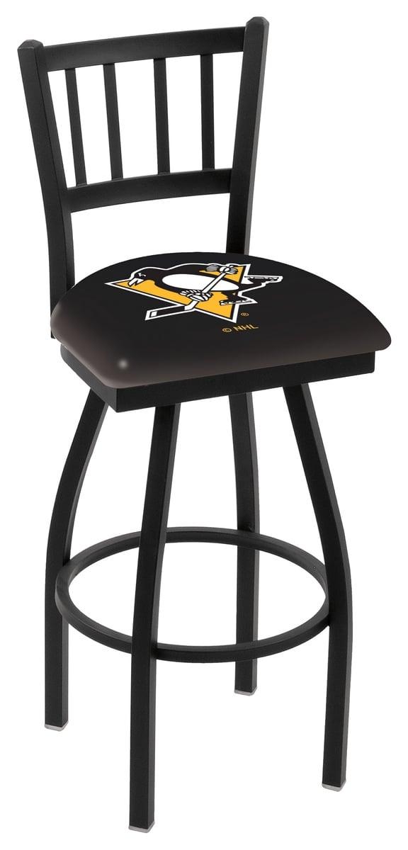 Pittsburgh penguins bar stool w official nhl logo