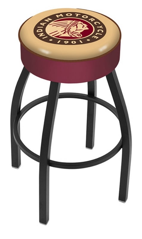 Indian Motorcycle Bar Stool W Official Indian Logo