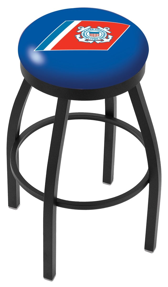 US Coast Guard Counter Height Bar Stool w Official  : L8B2BCstGrd from www.familyleisure.com size 704 x 1200 jpeg 53kB